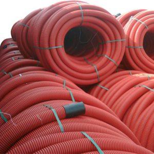 rexkaflex rode kabelbeschermingsbuis met trekdraad